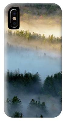 IPhone Case featuring the photograph Adirondack Fog by Brad Wenskoski