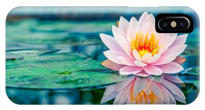 Pink Lotus Phone Cases