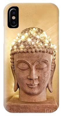 IPhone Case featuring the photograph Dawn Buddha by LeeAnn Kendall