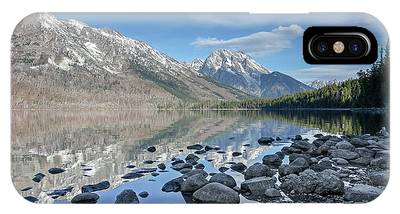 IPhone Case featuring the photograph Jenny Lake by Ronnie and Frances Howard