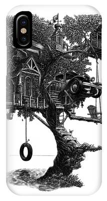 Lake Front Dream House IPhone Case