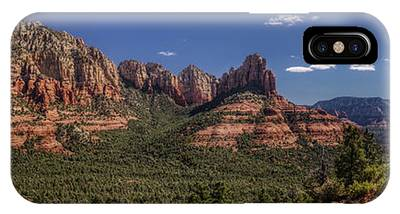 IPhone Case featuring the photograph Mormon Canyon Panorama by Andy Konieczny