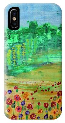 Mountain Meadow IPhone Case by Kim Nelson