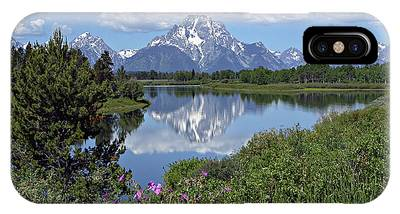 IPhone Case featuring the photograph Oxbow Bend by Ronnie and Frances Howard