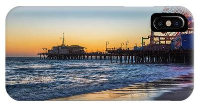 Pacific Park On The Pier IPhone Case