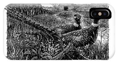 Pheasants IPhone Case