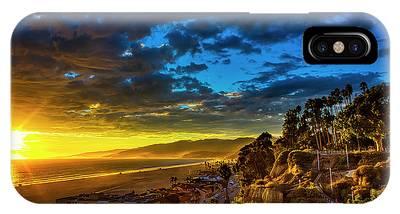 Santa Monica Bay Sunset - 10.1.18 # 1 IPhone Case