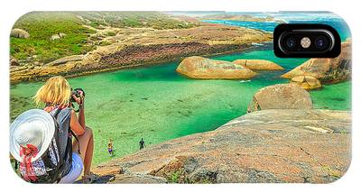 IPhone Case featuring the photograph Travel Photographer In Australia by Benny Marty