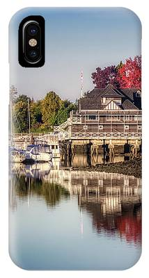 Colorful Autumn Foliage At Stanley Park IPhone Case by Andy Konieczny