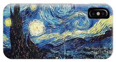 Starry Night By Van Gogh IPhone Case