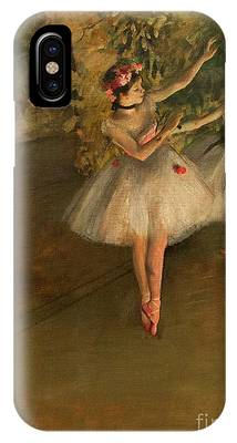 Two Dancers On A Stage IPhone Case