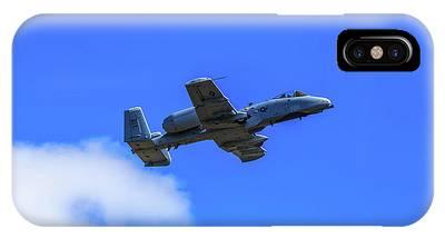 A-10c Thunderbolt II In Flight IPhone Case