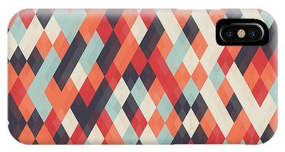 Abstract Geometric Background For Phone Case by Churunchik