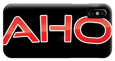 Aho IPhone Case