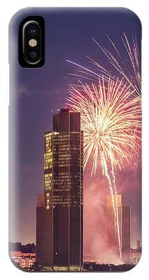 Albany Fireworks 2019 IPhone Case by Brad Wenskoski
