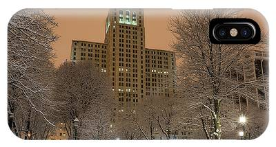 IPhone Case featuring the photograph Alfred E. Smith Building by Brad Wenskoski