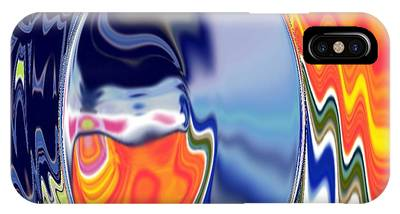 IPhone Case featuring the digital art  Ooo by A z akaria Mami