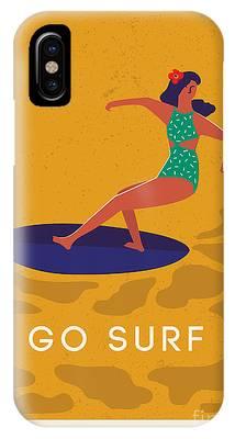 Surfer Girl Phone Cases