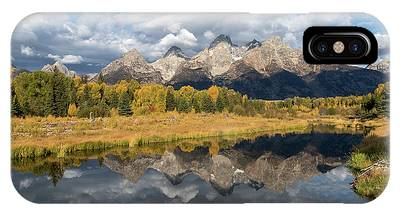 IPhone Case featuring the photograph Autumn's Beauty by Ronnie and Frances Howard