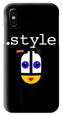 Black Style Ubabe IPhone Case