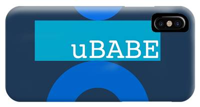 Blue Babe IPhone Case
