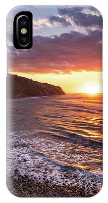 Bluff Cove At Sunset IPhone Case by Andy Konieczny