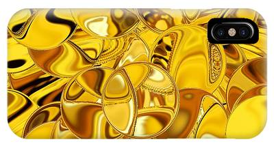 IPhone Case featuring the digital art Boules D Or by A zakaria Mami