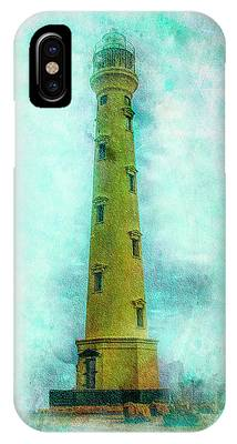 California Lighthouse Aruba IPhone Case