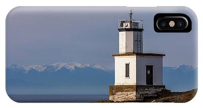 Cattle Point Lighthouse IPhone Case