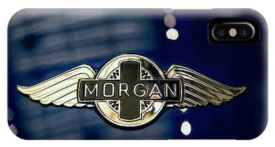 Classic Morgan Name Plate IPhone Case