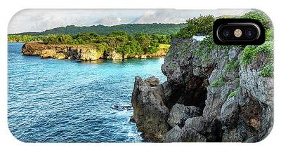 Cliffside Views Portland Jamaica IPhone Case