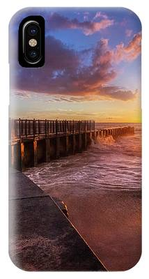 Colorful Sunset At Toes Beach IPhone Case by Andy Konieczny