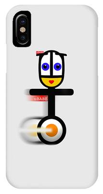 Cycle Babe IPhone Case