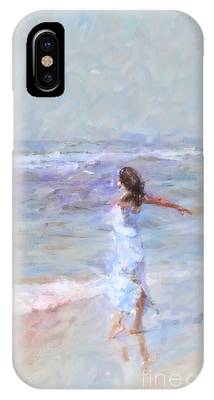 Dancing On The Sand IPhone Case