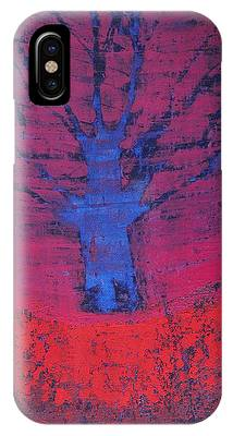 Disappearing Tree Original Painting IPhone Case