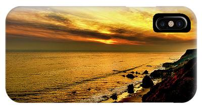 El Matador Beach Sunset IPhone Case