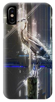 Electric Heron IPhone Case