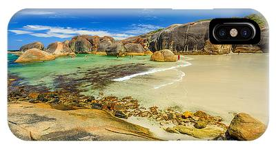 IPhone Case featuring the photograph Elephant Cove Beach by Benny Marty