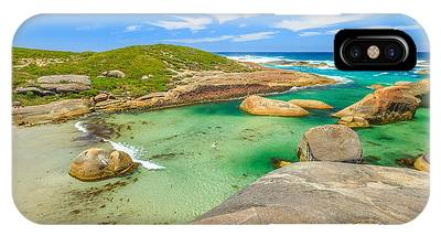 IPhone Case featuring the photograph Elephant Cove Beach Wa by Benny Marty