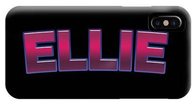 Ellie #ellie IPhone Case