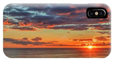 End Of Day Light Show IPhone Case