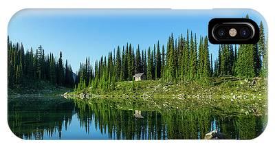 Eva Lake Cabin IPhone Case