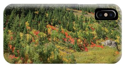 IPhone Case featuring the photograph Fall Colors by Ronnie and Frances Howard