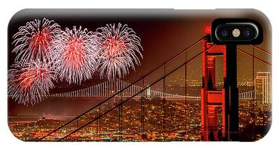 Fireworks Display Phone Cases