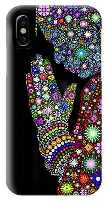 Worship Digital Art iPhone Cases