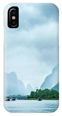 Foggy Morning On The Li River  IPhone Case by Kevin McClish
