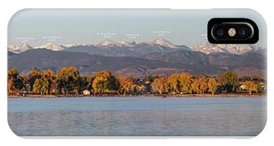 Indian Peaks Wilderness Photographs iPhone Cases