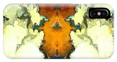 IPhone Case featuring the digital art Fuego  by A z Mami
