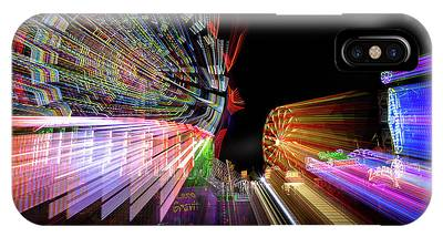 IPhone Case featuring the photograph Fun Zone At The Fair by Mike Long