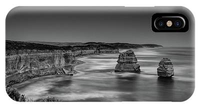 IPhone Case featuring the photograph Gog And Magog At The Twelve Apostles by Chris Cousins